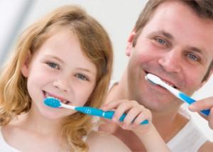 rensning af tænder