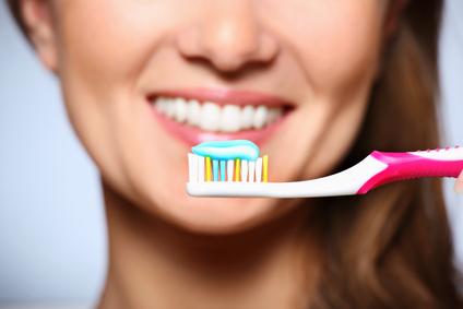 Tandbørstning